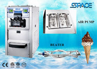 6248A Gravity Feed Table Top Ice Cream Machine For Business Stainless Steel Material
